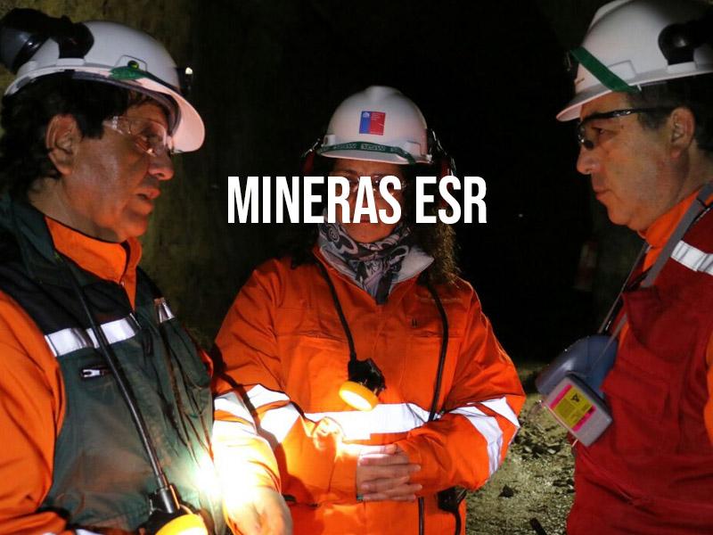 Las 32 mineras que han recibido el distintivo ESR
