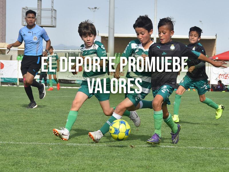 El deporte una herramienta poderosa para promover valores: Peñoles