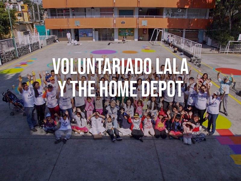 Voluntariado LALA y The Home Depot unen esfuerzos a favor de obras sociales