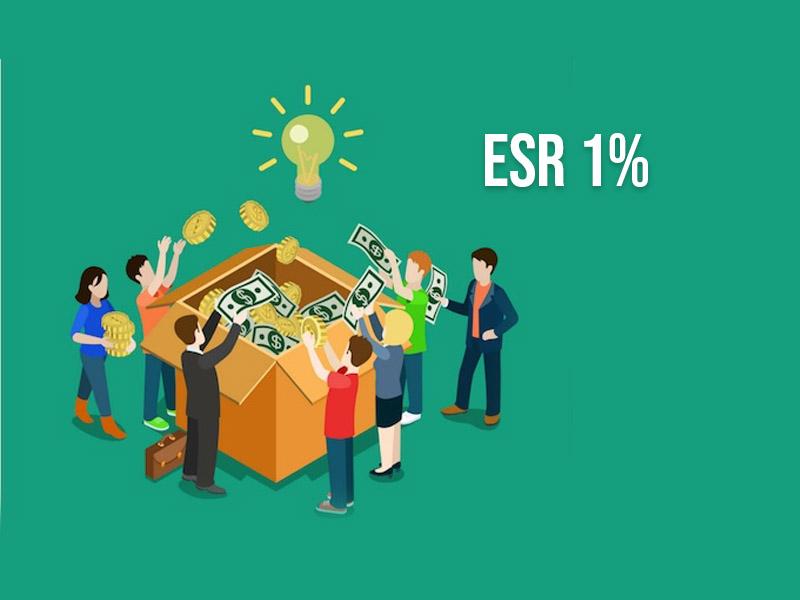 ESR 1% Inversión Social