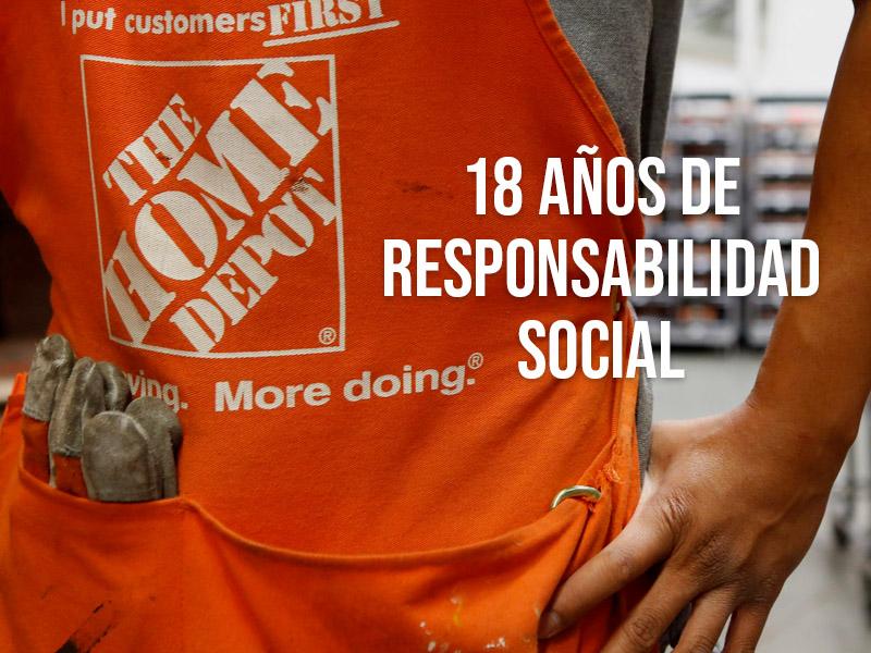 The Home Depot 18 años de responsabilidad social en México