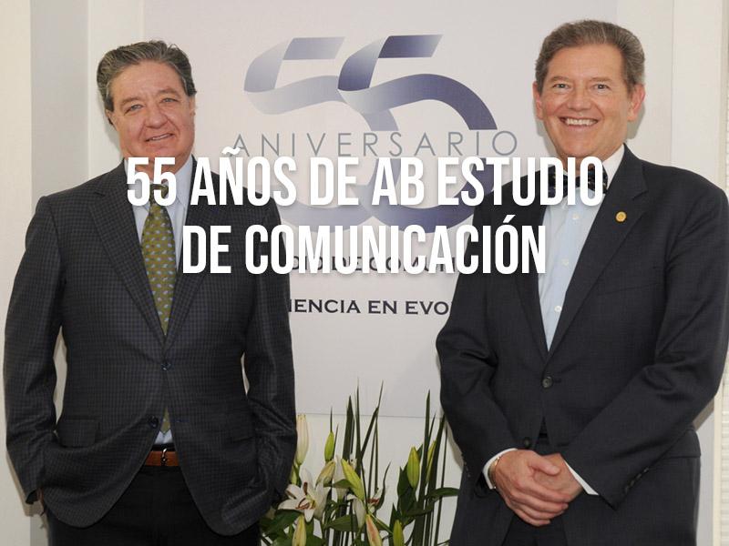 AB Estudio de Comunicación festeja sus 55 años