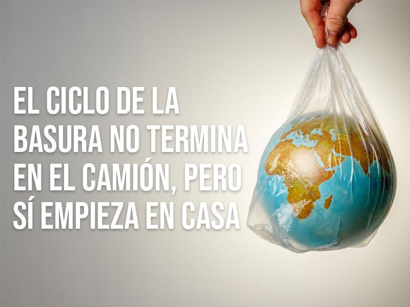 Más allá de reciclar