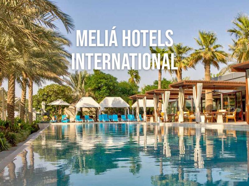 Tercera compañía hotelera más sostenible del mundo en 2018. Meliá Hotels International