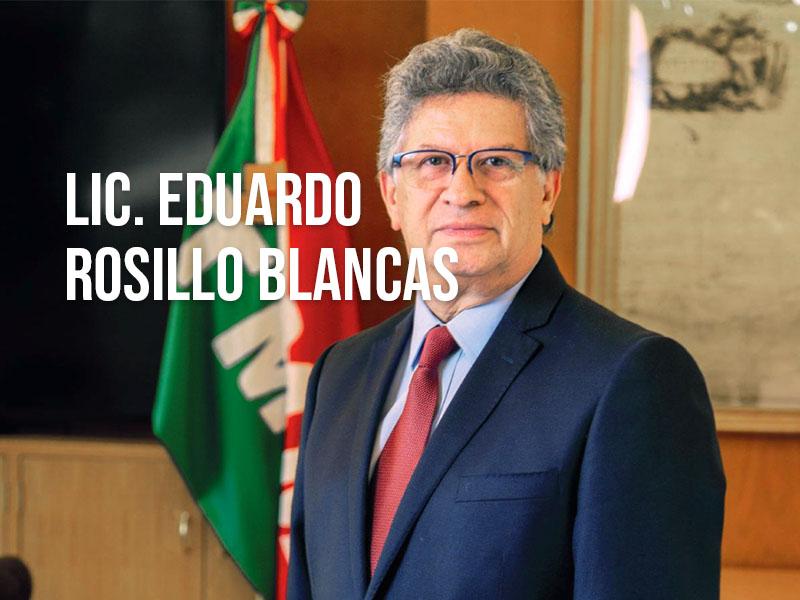 Lic. Eduardo Rosillo Blancas, Director de Proyectos de la División Puertos, Terminales y Agencias de GrupoTMM
