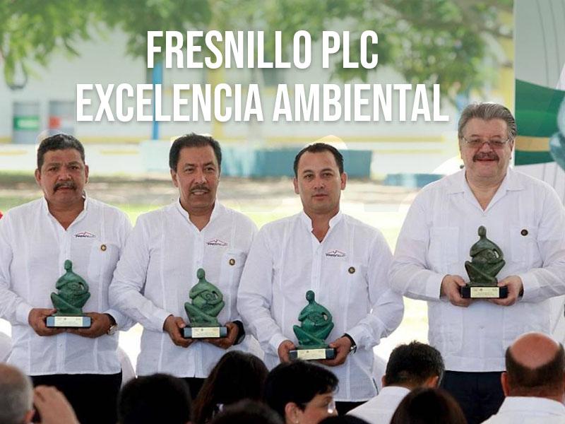 Fresnillo PLC recibe el reconocimiento de excelencia ambiental
