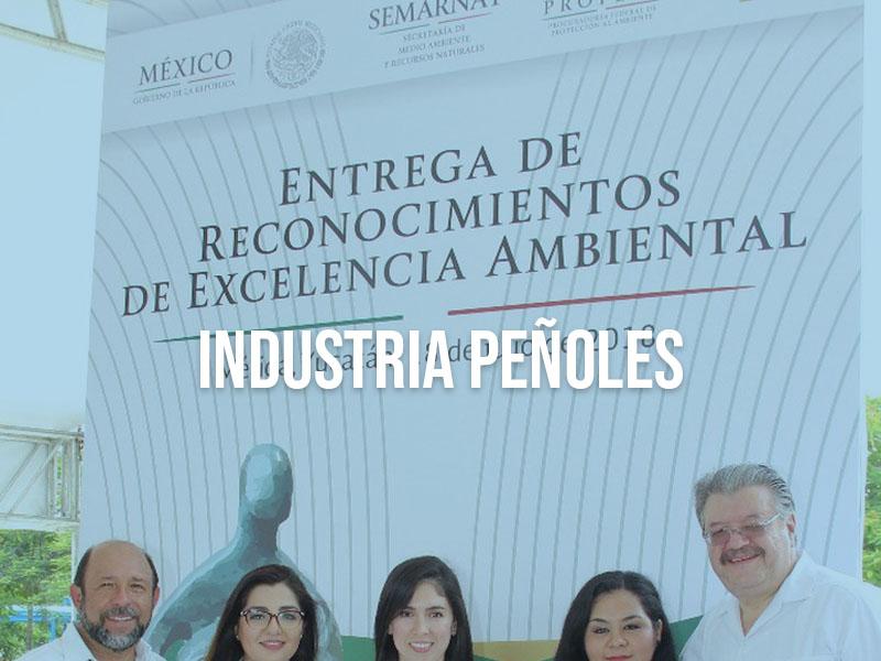 Recibe Industrias Peñoles reconocimiento de Excelencia Ambiental 2018