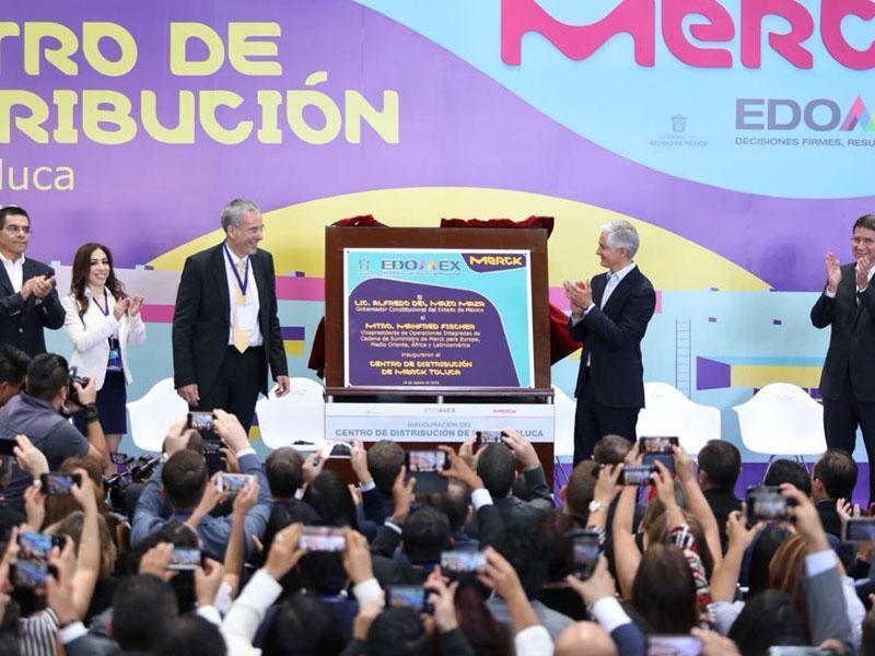 Inaugura Merck nuevo centro de distribución de última generación en el Estado de México