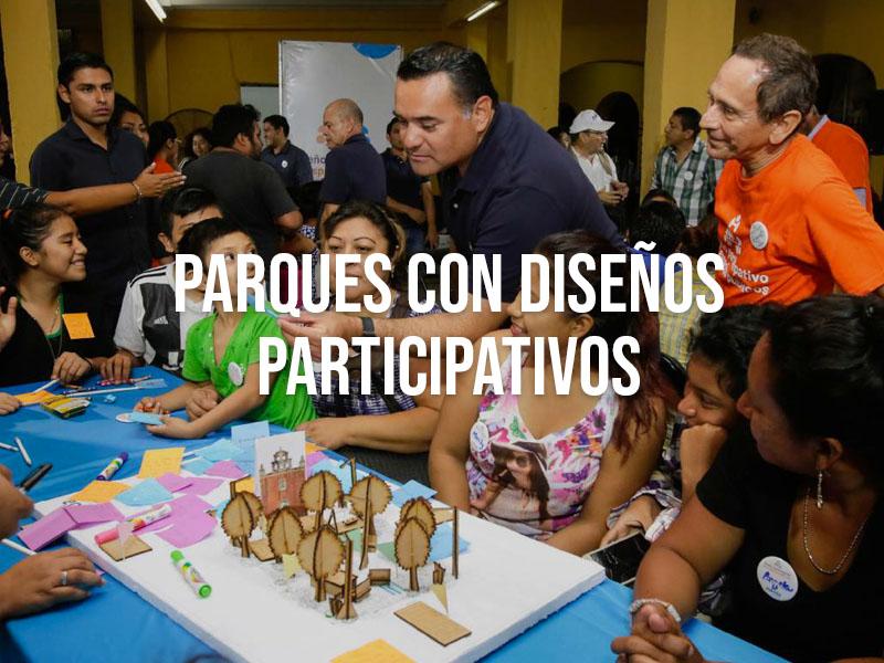 Parques con Diseños Participativos