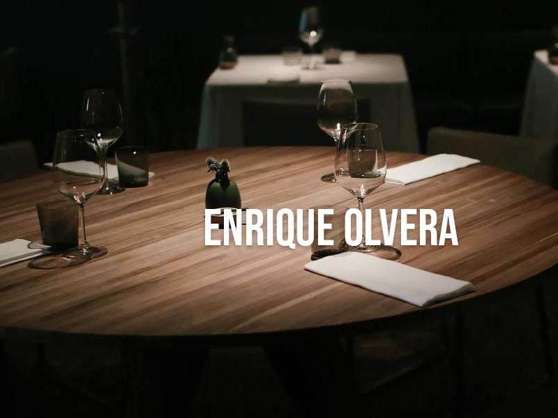 Enrique Olvera comprometida con la sustentabilidad