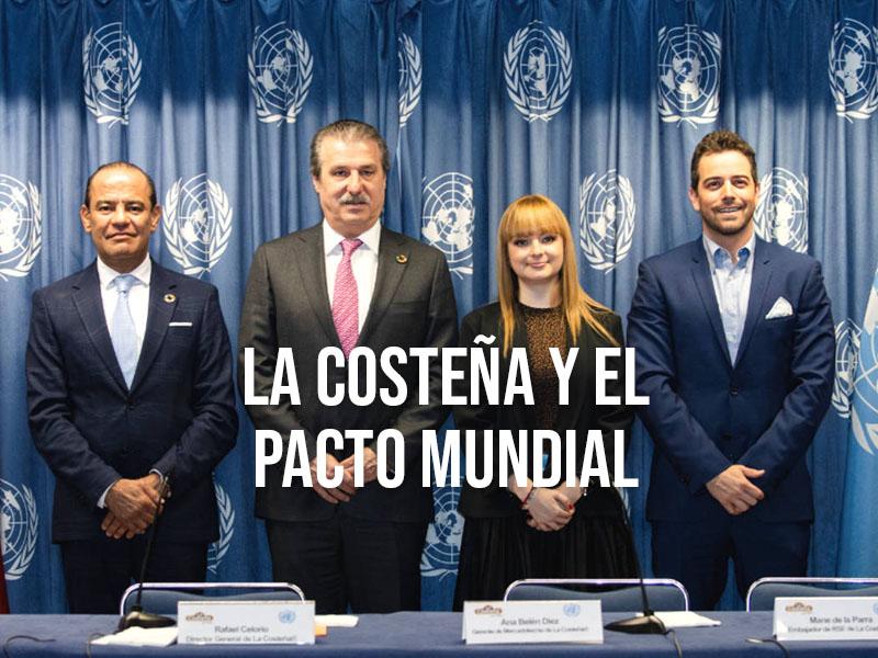 LA COSTEÑA ® se adhiere al Pacto Mundial de la ONU