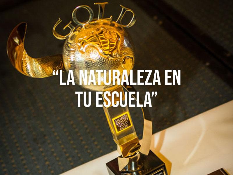 """Telmex telcel recibió el reconocimiento Responsabilidad Ambiental por su programa nacional """"La naturaleza en tu escuela"""""""