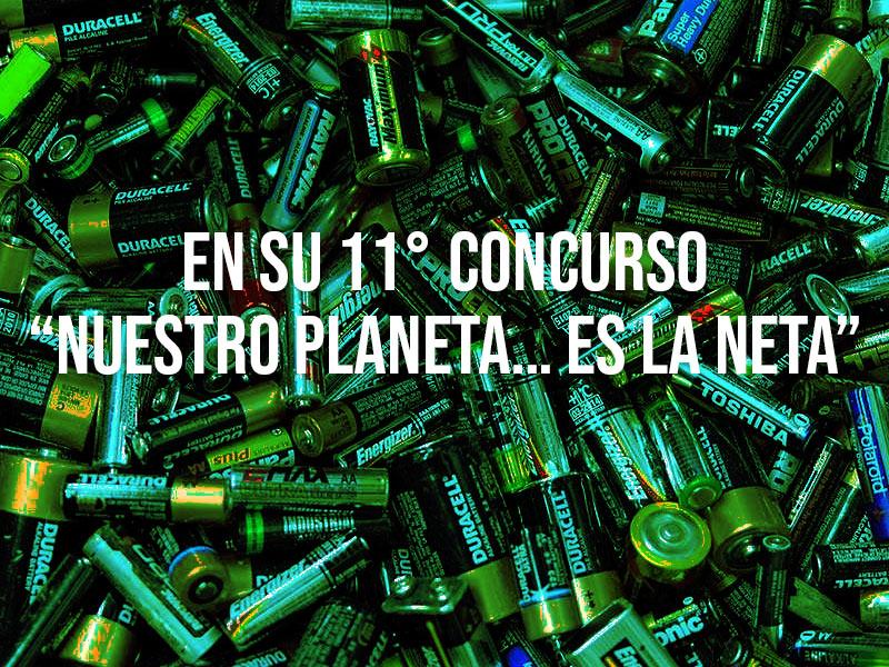 """GRUPO IMU recolecta más de 10 toneladas de pilas usadas en su 11° concurso """"Nuestro planeta… es la neta"""""""