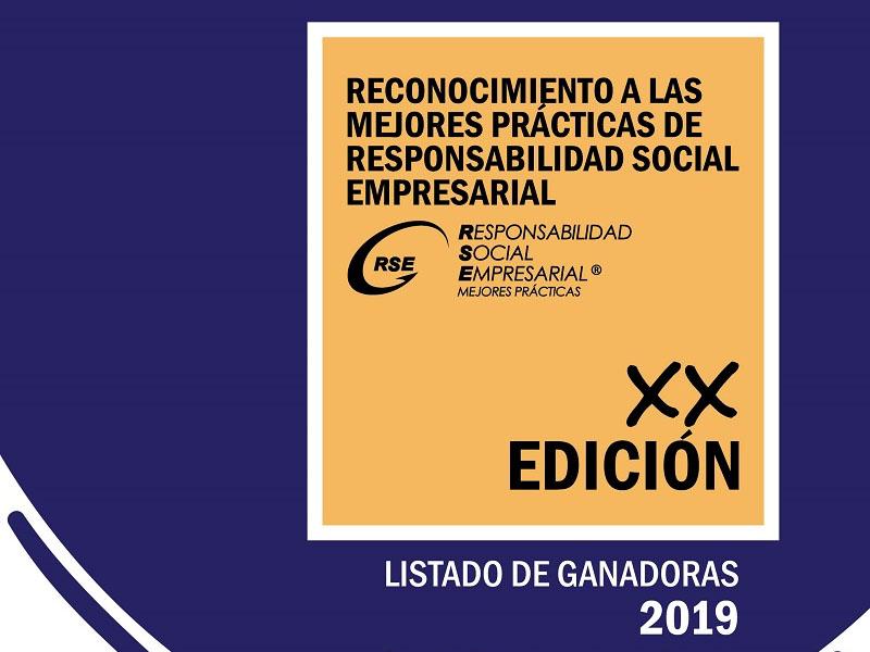Reconocimiento a las Mejores Prácticas de Responsabilidad Social Empresarial XX Edición