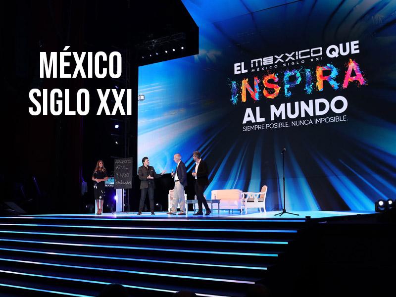 Líderes mundiales en México Siglo XXI 17ª edición