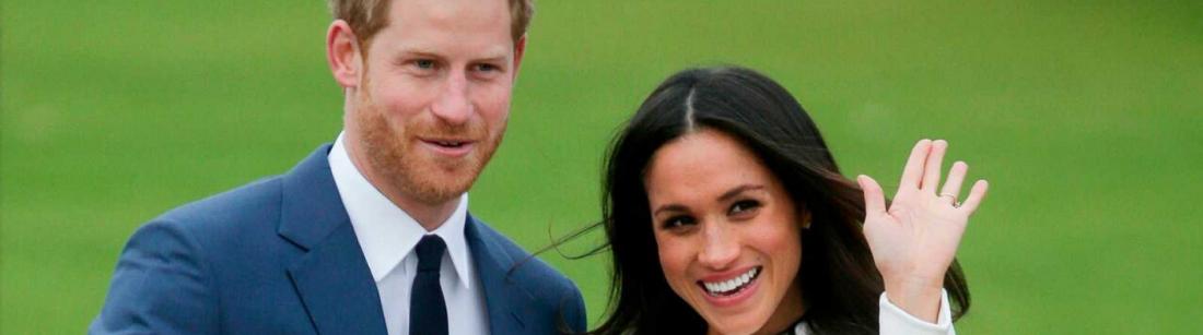 Príncipe Harry y su esposa