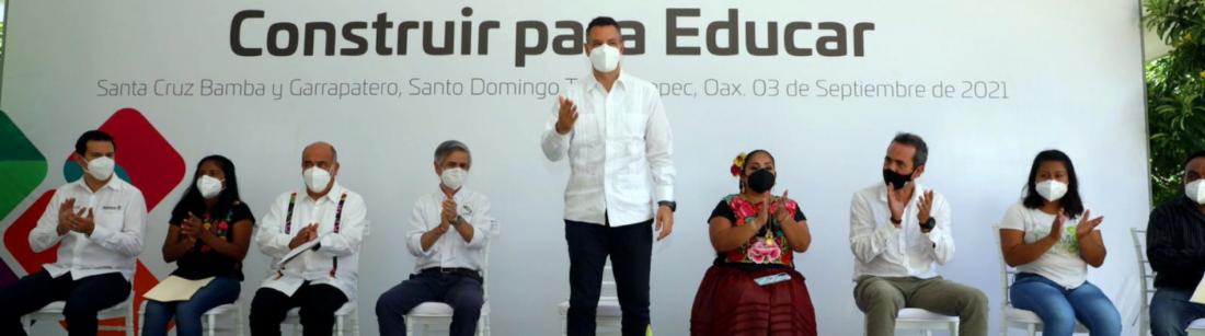 Iberdrola, Oaxaca, Construir para Educar